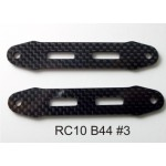 (CW-010) Associated B44 Battery Straps Carbon Fiber