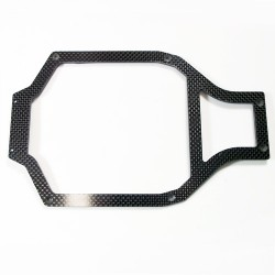 (CW-084-04) RC 10 Trailing Arm Chassis Top Deck CARBON FIBER 3MM