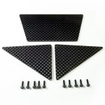 Carbon Fiber Skid Plates for Axial Tube Bumper AX80044