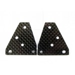 (CW-096) Kyosho Tomohawk Scorpion Rear Suspension Plate Carbon Fiber Cox