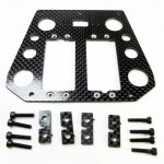 (CW-107) Kyosho Assault Advance Radio Plate Carbon Fiber